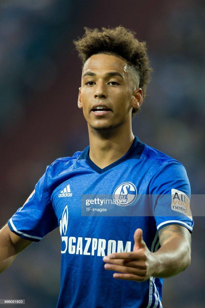 Thilo Kehrer Of Schalke Gestures During The Bundesliga Match Between