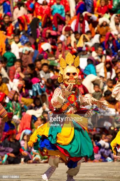 ティンプーの宗教的な祭り - ティンプー ストックフォトと画像
