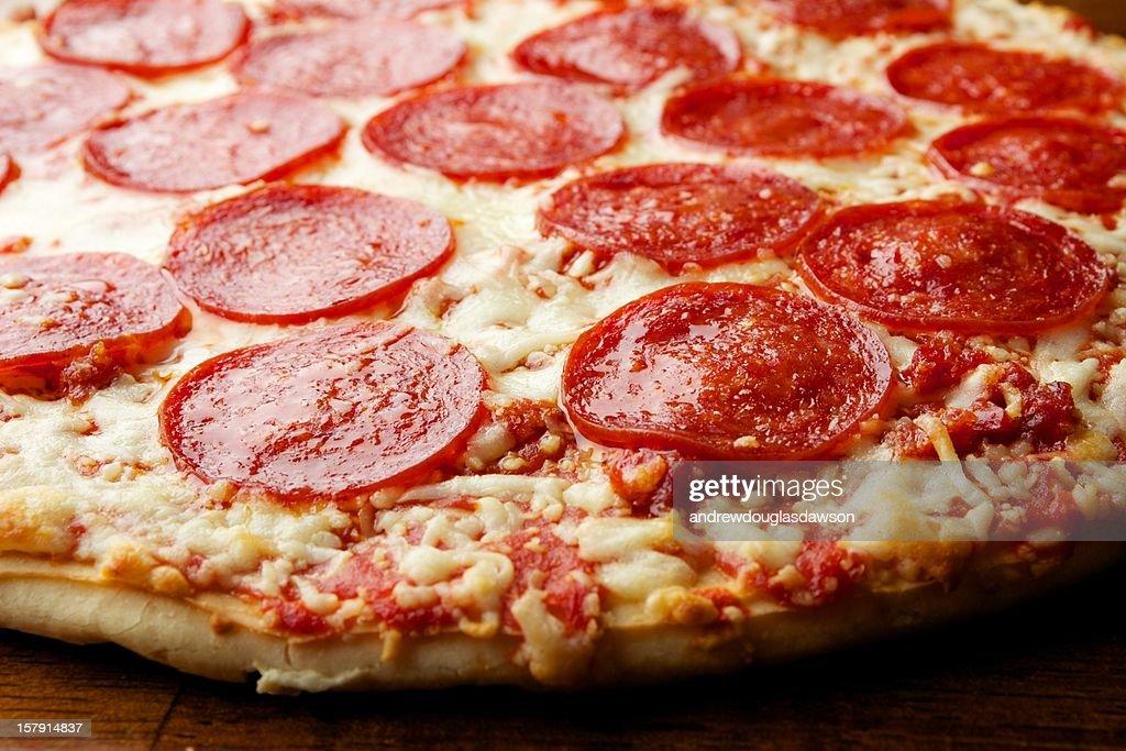 Thin Crust Pizza : Stock Photo