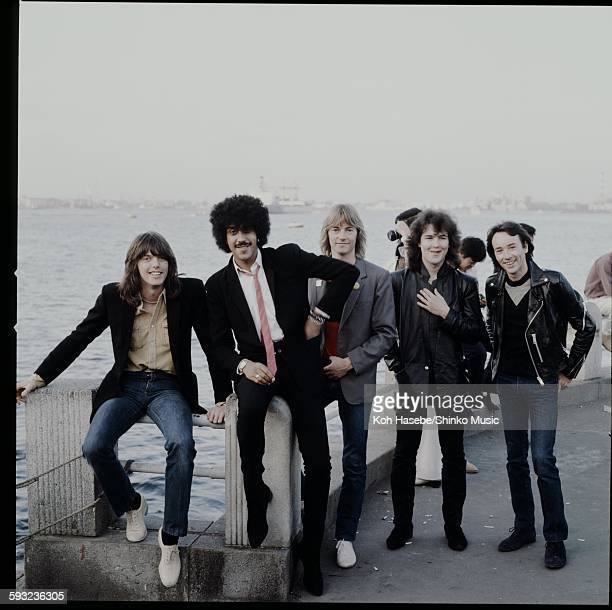 Thin Lizzy at the Yokohama wharf Kanagawa September 1980