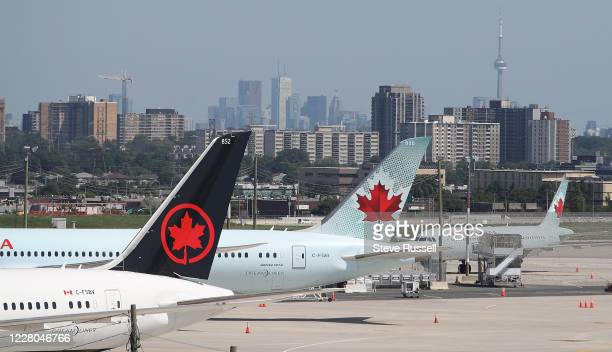 Things are slow at the airport. Parkn Fly lots around Pearson International Airport are showing the effects of reduction of national and...