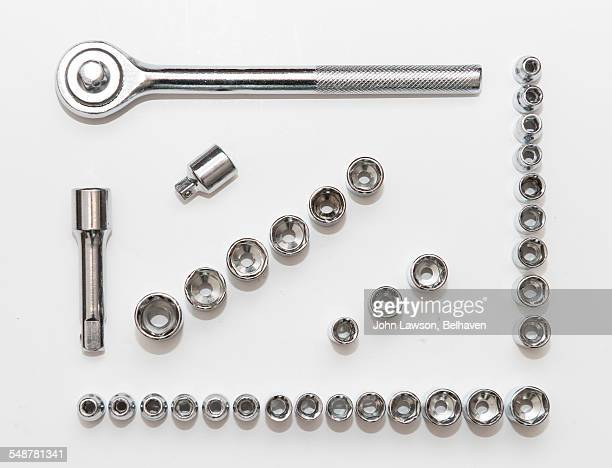 things neatly organized  - nut fastener stock photos and pictures