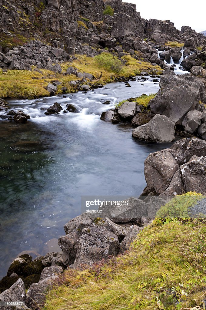 Thingvellir national park, Iceland : Stock Photo