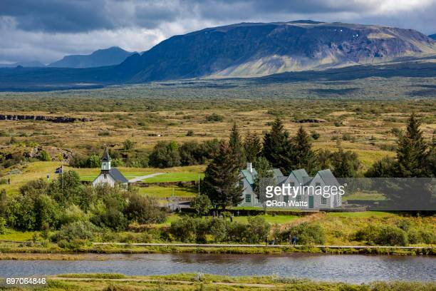 thingvellir national park - thingvellir national park stock photos and pictures