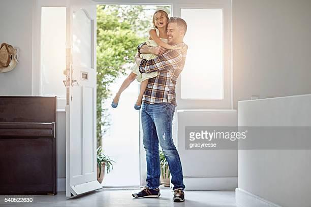 penso que é mais pai prazer que estou - entrar imagens e fotografias de stock