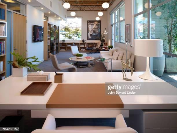 Think Pure, open plan loft office
