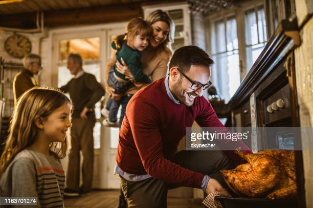 i think this thanksgiving turkey is baked! - thanksgiving holiday stock pictures, royalty-free photos & images