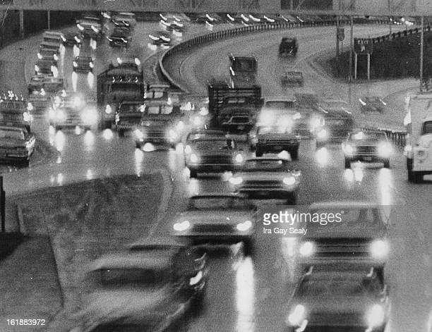 OCT 10 1969 Think This Was Bad Just Wait A cold drizzling rain Friday morning made it miserable going for those walking as well as those driving A...
