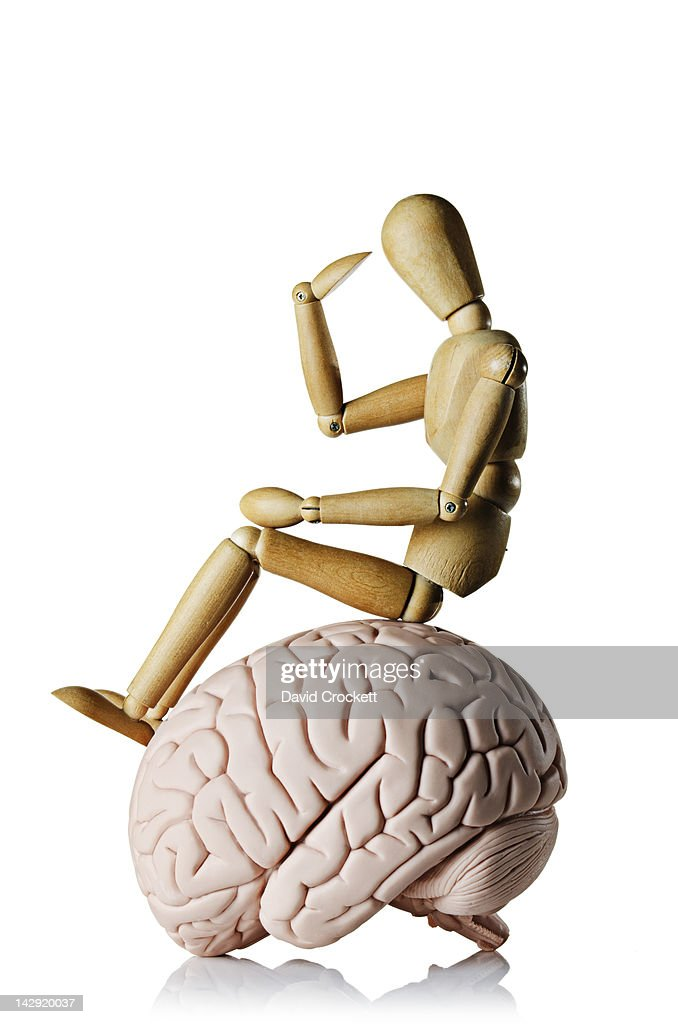 Thinking brain : Stock Photo