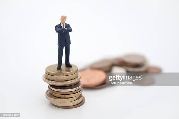 Thinking man on euro pound yen