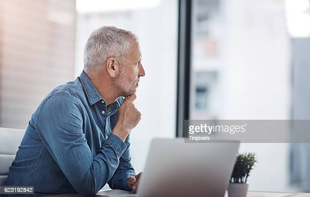 Thinking of ways to transform his ideas into successful results