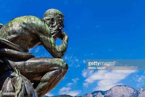di pensare - mitologia greca foto e immagini stock