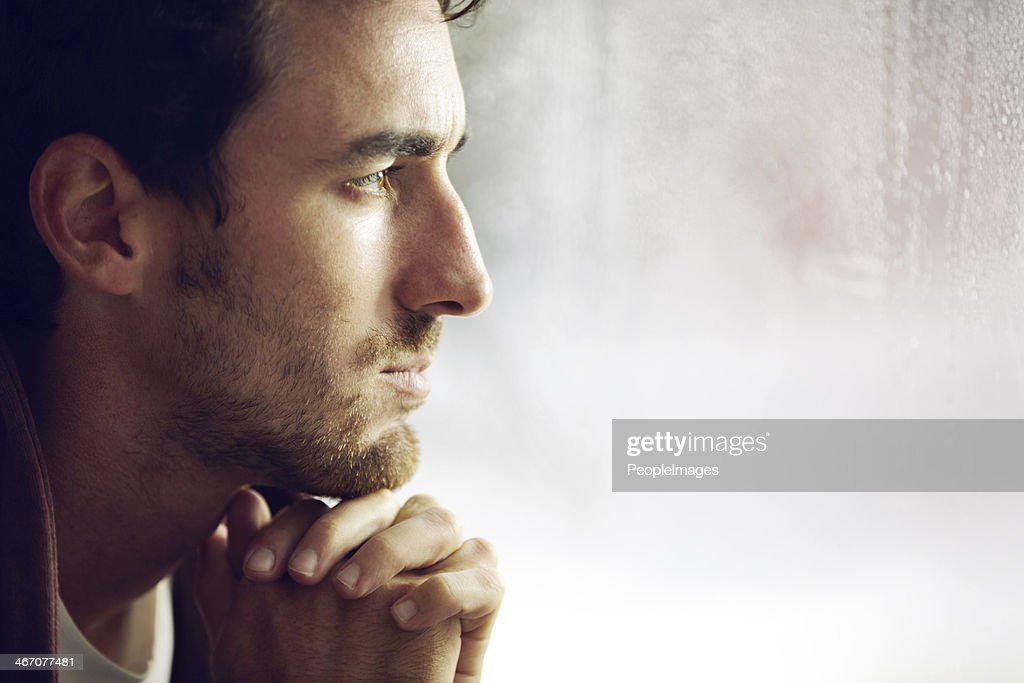 Thinking things over : Stock Photo