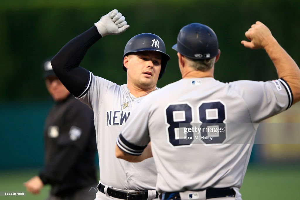 CA: New York Yankees v Los Angeles Angels of Anaheim