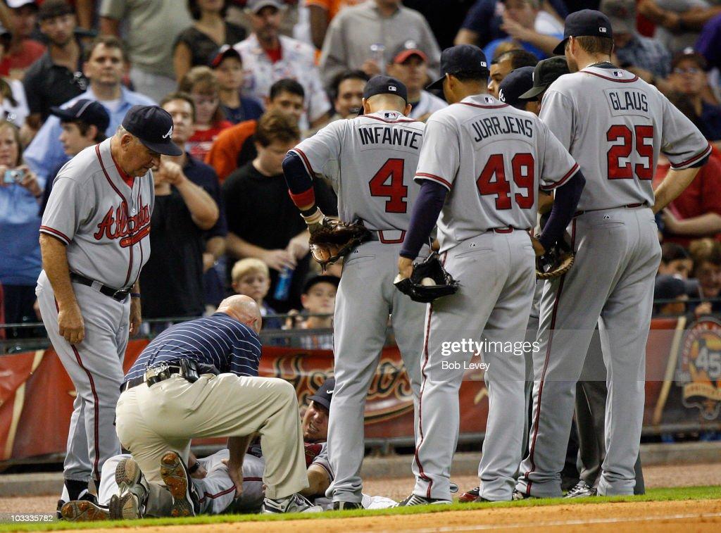 Atlanta Braves v Houston Astros