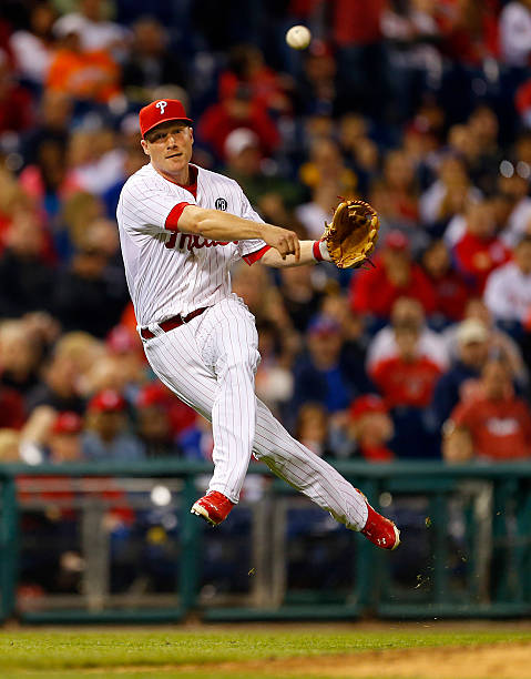 Cody Ashe #25 of the Philadelphia Phillies