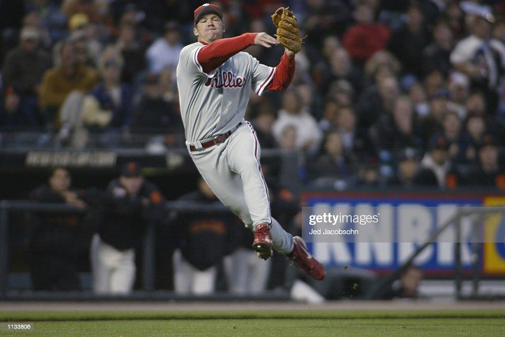 Phillies v Giants : News Photo