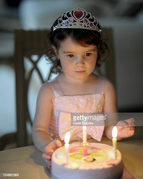 third birthday girl - crausby stock pictures, royalty-free photos & images
