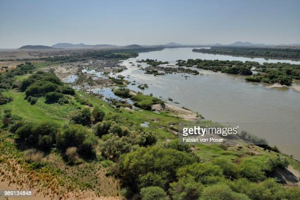 third cataract of the nile at kerma, northern, nubia, sudan - sudan stock pictures, royalty-free photos & images