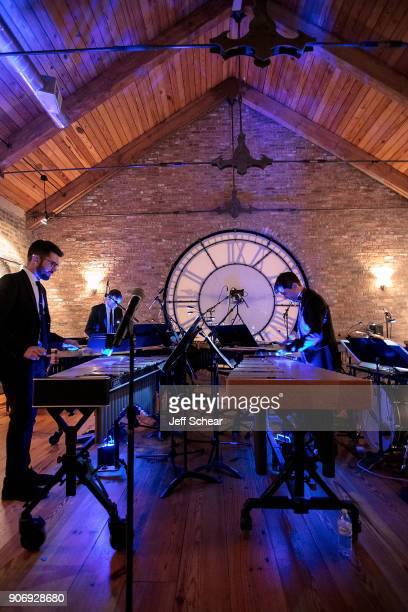 Third Coast Percussion performs at The Recording Academy Chicago Chapter Nominee Reception and Membership Celebration on January 18 2018 in Chicago...