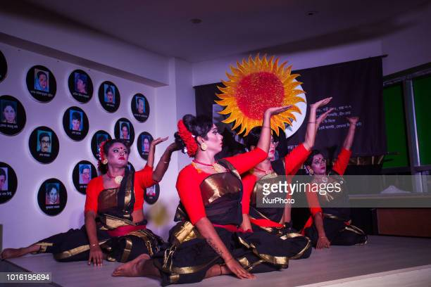 Third gender community perform cultural program in Dhaka Bangladesh on 13 August 2018 The cultural program with the participation of artists of the...