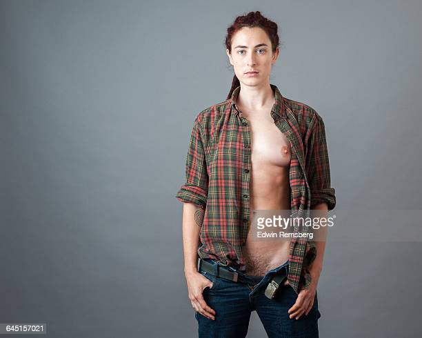 third gender - transgender man stock photos and pictures