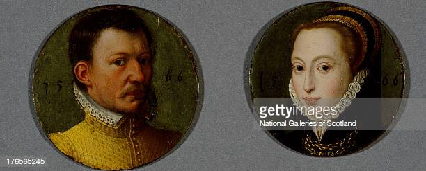 Third husband of Mary Queen of Scots by Unknown 1566 Oil on copper