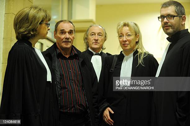 Third lawsuit in assizes for Jacques Mayor accused of double murder in Metz France on October 16th 2008 Jacques Mayor the Lorraine mason 54 years old...