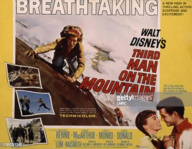 Third Man On The Mountain poster James MacArthur Janet Munro 1959
