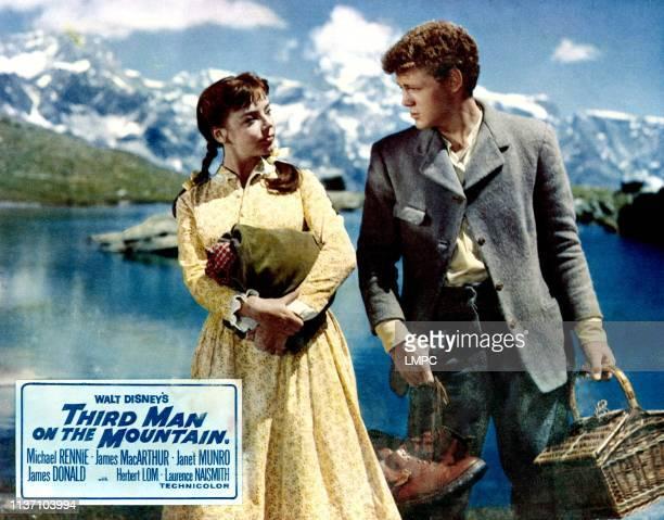 Third Man On The Mountain poster Janet Munro James MacArthur 1959