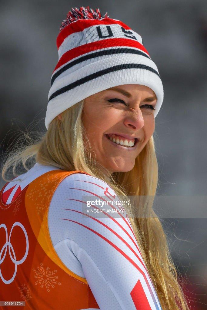 ALPINE-SKIING-OLY-2018-PYEONGCHANG-PODIUM : News Photo