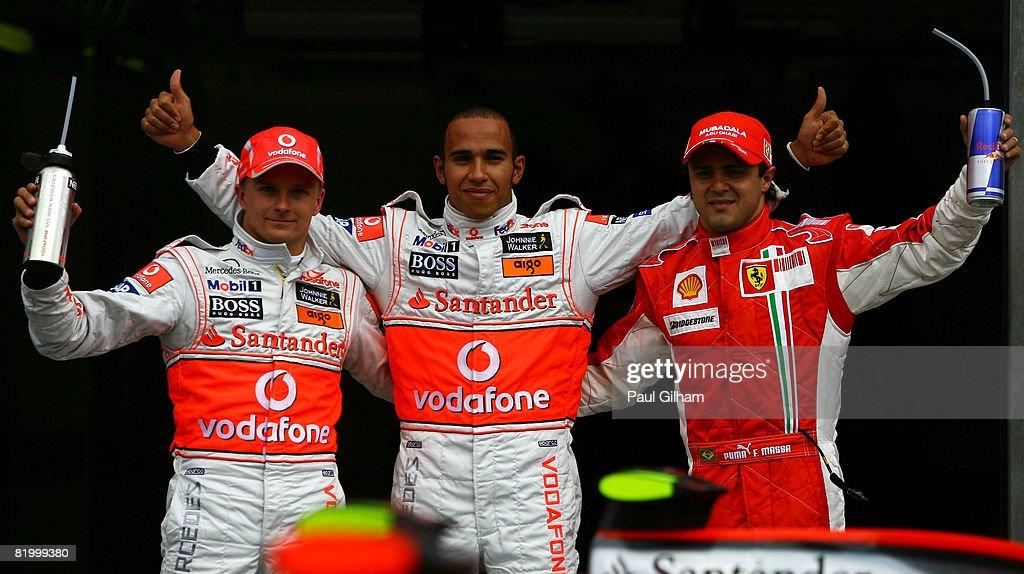 German Formula One Grand Prix: Qualifying : News Photo