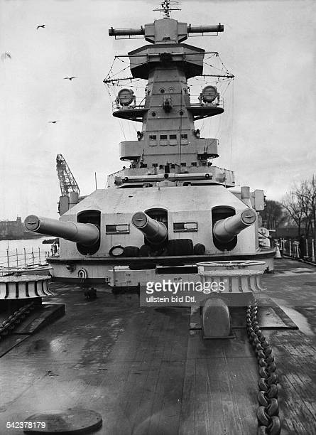 Third Reich Navy Conningtower of the German battleship 'Admiral Graf Spee' January 1936