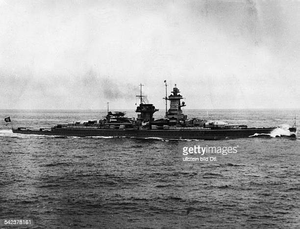 Third Reich Navy German battleship 'Admiral Graf Spee' 1939