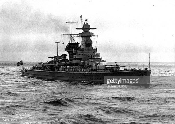 Third Reich Navy German battleship 'Admiral Graf Spee' undated