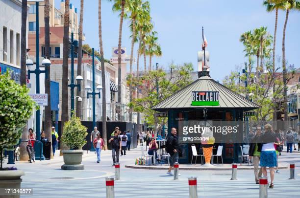 Third Street Promenade in Santa Monica, CA