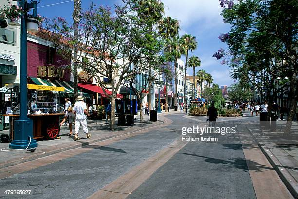 Third Street Promenade, Santa Monica, California