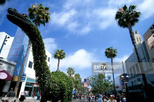 Third Street Promenade, Santa Monica, California, USA.