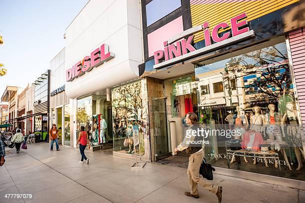 Third Street Promenade Shopping, Santa Monica, USA