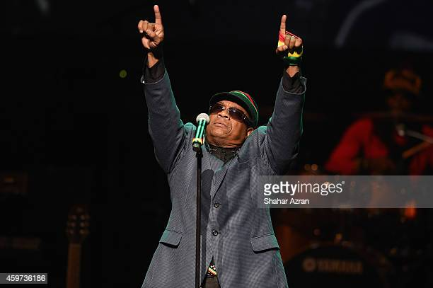 Third World AJ Brown perform at the The Apollo Theater on November 29 2014 in New York City