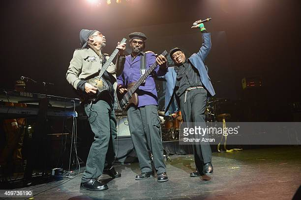 Third World Band Steven Cat Coore Richard Daley and Aj Brown perform at the The Apollo Theater on November 29 2014 in New York City