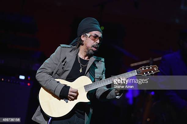 Third World Steven Cat Coore performs at the The Apollo Theater on November 29 2014 in New York City