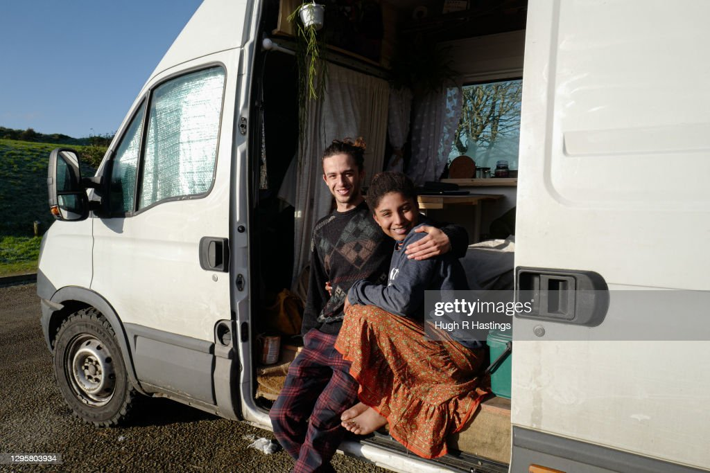 University Students Turn To Van Life In A Bid To Save Costs : ニュース写真
