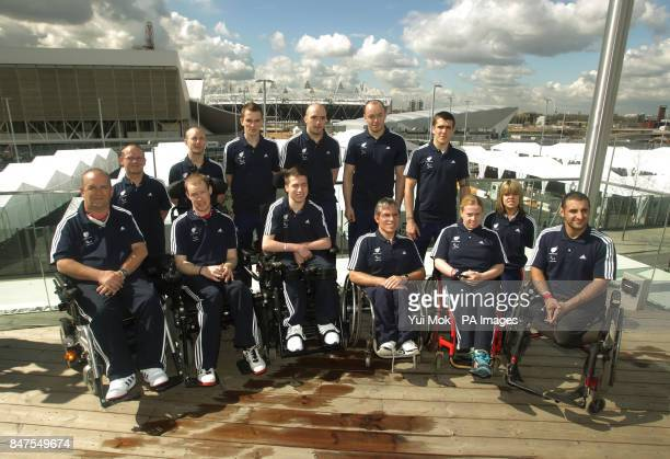 Thirteen of the twenty members of British Paralympic team selected for the as part of the Paralympics Team GB Nigel Murray Dan Bentley David Smith...