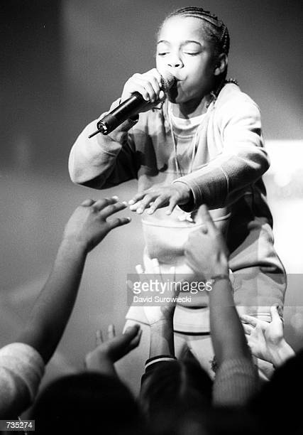 Thirteen year old rapper Bow Wow performs at the 2nd Annual What's Next Teen People Online Webcast November 9 2000 at the Apollo Theater in New York...