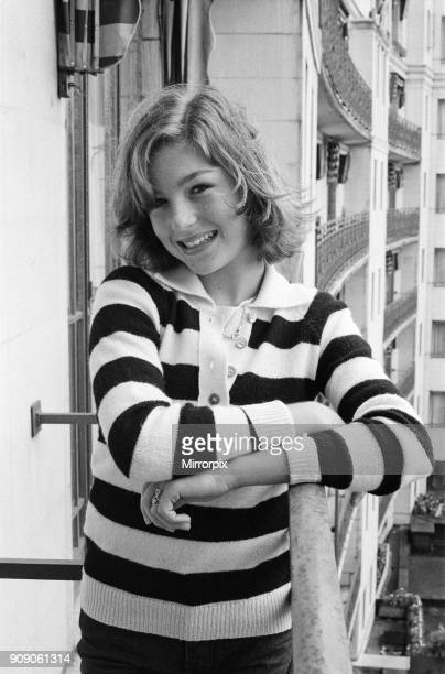 Thirteenyearold actress Tatum O'Neal pictured at the Dorchester Hotel 25th August 1977