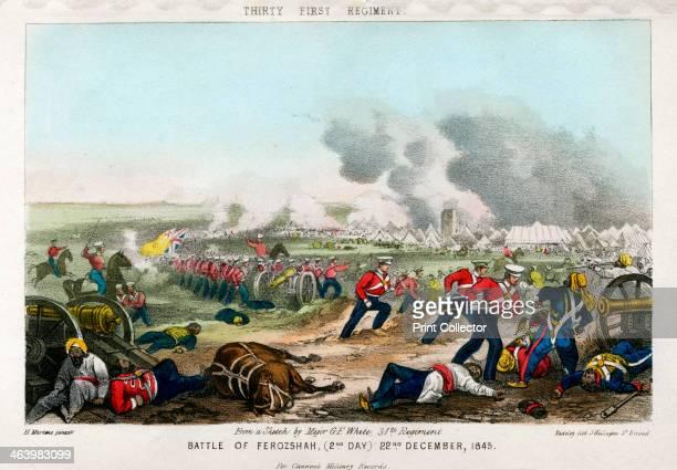 Thirty First Regiment Battle of Ferozeshah 2nd Day 22nd December 1845 The Battle of Ferozeshah in the Punjab was a hardfought battle between the...