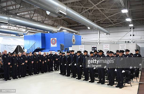 Thirtysix recruits graduate from the Denver Police Academy June 24 2016 The recruits reach this milestone following completion of the 26week academy...
