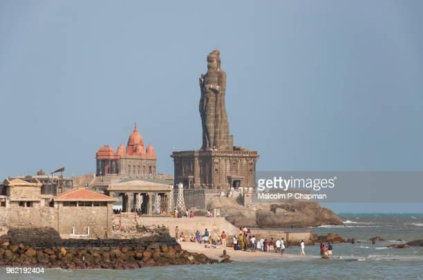 Thiruvalluvar Statue and Vivekananda Rock Memorial, Kanyakumari, Tamil Nadu