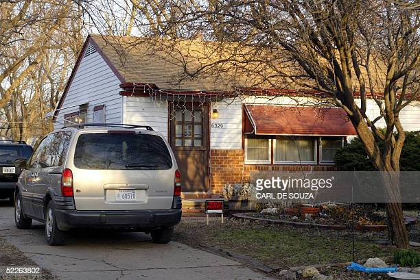 This 01 March 2005 photo shows a general view of the home of BTK suspect Dennis Rader in Park City Kansas Rader a 59yearold former home security...